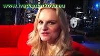 Iva Pazderková před Show Jana Krause
