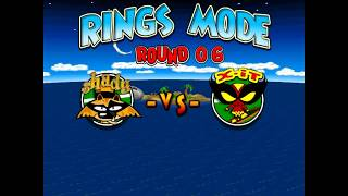 TENNIS TITANS -  Game House (RINGS MODE) ROUND 06 SHADY VS X-IT