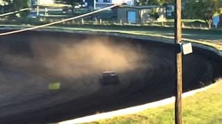 Enid Speedway mini stock hot lap session 10-19-2013