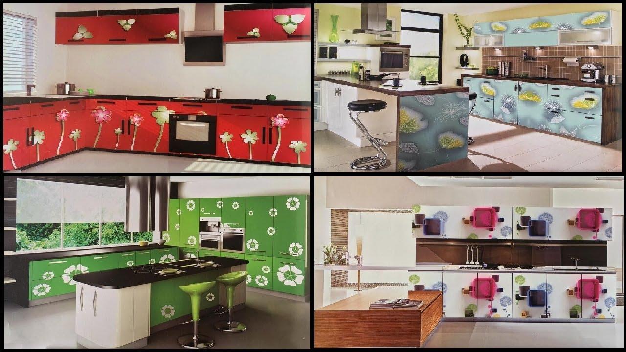 Latest modular kitchen designs 9   Modular kitchens for middle class  family [vinupinteriorhomes]