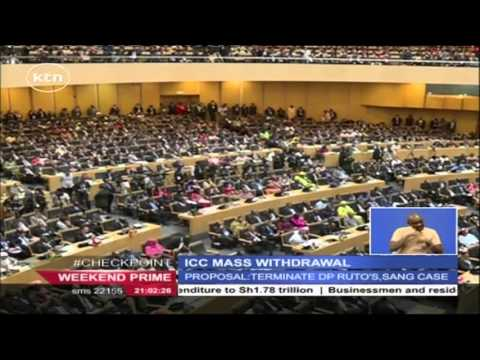 The African Union adopts proposal to develop a roadmap for withdrawal from the Rome Statute