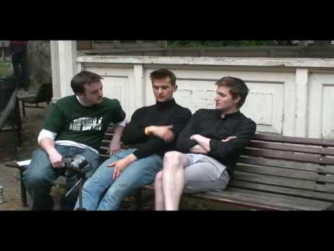 Wild Beasts - Interview with Hayden and Benny @  Bandstand Busking
