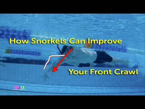 Use Snorkels to Improve Your Front Crawl