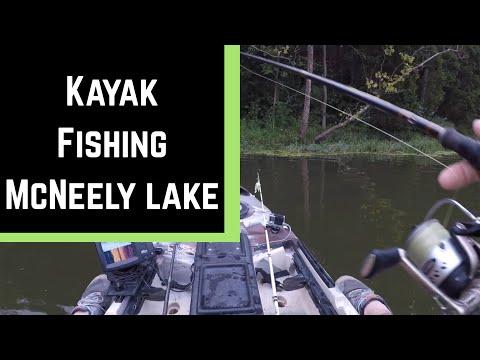 McNeely Lake Kayak Fishing In Louisville KY. Heavily Pressured City Lake!