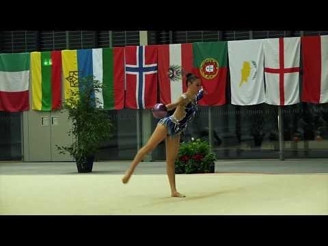 Eleni Erimoude CYP ball 3rd place