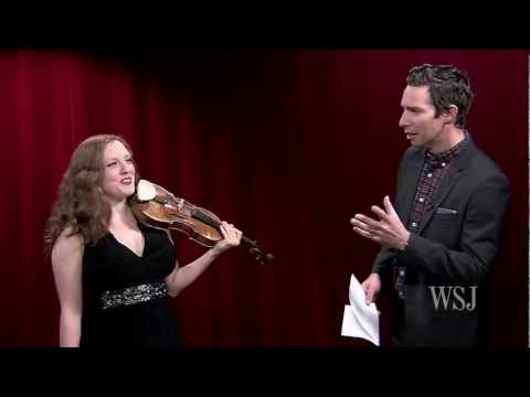 Violinist Plays One of the Riskiest Pieces Written