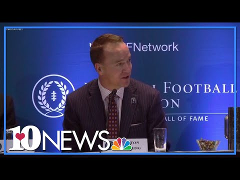 Peyton Manning joining college football Hall of Fame