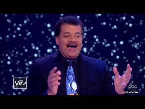 Neil deGrasse Tyson On Controversy Over Apollo 11 Movie 'First Man'  The View
