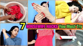 TOP 7 Life Hacks for LADIES | Housewife Hacks Every One Should Know