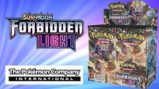 The Pokemon Company International Sent us a Forbidden Light Booster Box to Open!!