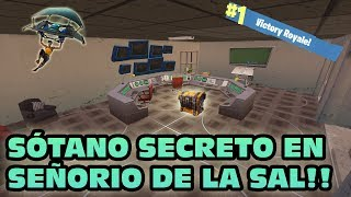 SOTANO SECRETO NO SENHOR DO SAL! FORTNITE: Battle Royale