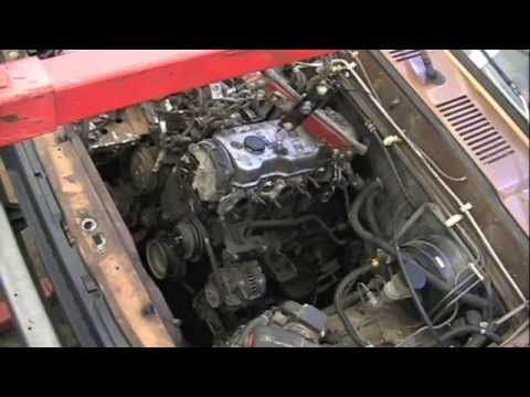 Isuzu Engine Removal WITH Cylinder Head