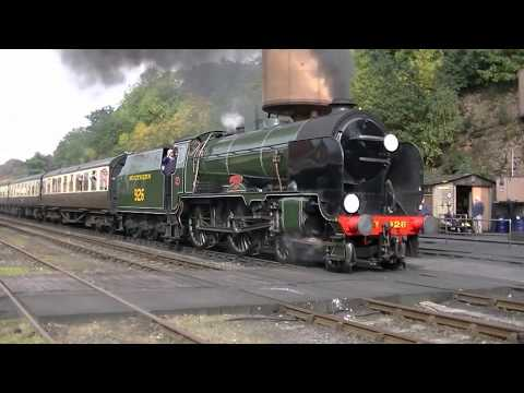 Severn Valley Railway Autumn Steam Gala 24th September 2017