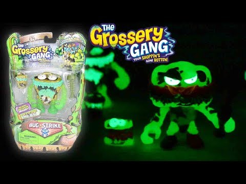 GROSSERY GANG | UNBOXING | Glow In The Dark - Grossery Gang | SEASON 4 | Toy Unboxing