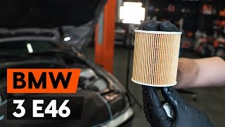 How to change oil filter and engine oil on BMW 3 (E46) [TUTORIAL AUTODOC]