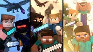 Skywars на: полный трилогия (minecraft анимация)