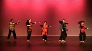 Uttoron Boisakhi: Bangla semi classical dance, Dha dhina Natina