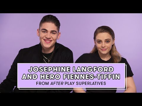 Hero Fiennes-Tiffin and Josephine Langford from \'After\' Reveal Who\'s the Biggest Romantic and More
