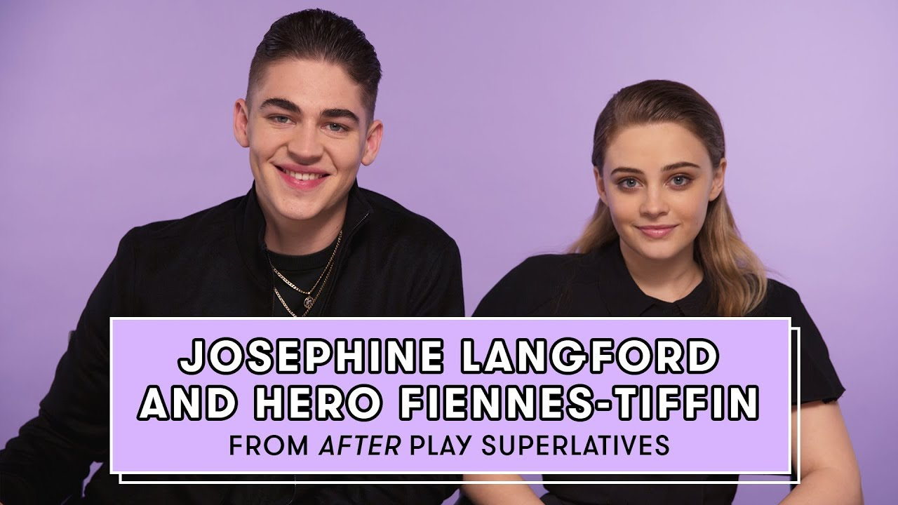 Download Hero Fiennes-Tiffin and Josephine Langford from 'After' Reveal Who's the Biggest Romantic and More