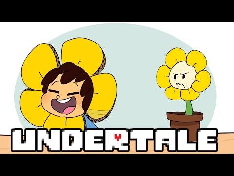 (ComicDub) Undertale - Look I'm Flowey short
