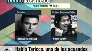 Habló Taricco, uno de los acusados de robo en Télam