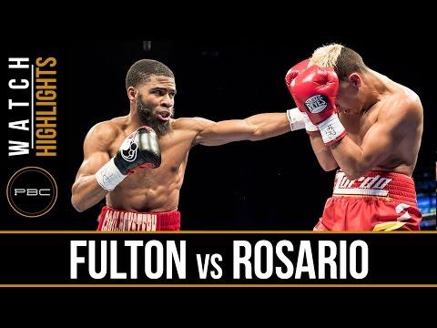 Fulton vs Rosario HIGHLIGHTS: April 4, 2017 - PBC on FS1