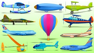 Planes For Kids | Airplane Series | Street Vehicles | Cars For Children