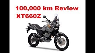 Yamaha XT 660 Z Tenere - Long term (100,000km) test review