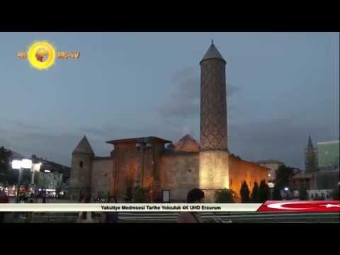 Yakutiye Medresesi Tarihe Yolculuk 4K UHD Erzurum
