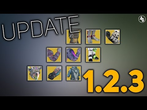 Exotic Overview for 1.2.3 which is Today | Destiny 2 thumbnail
