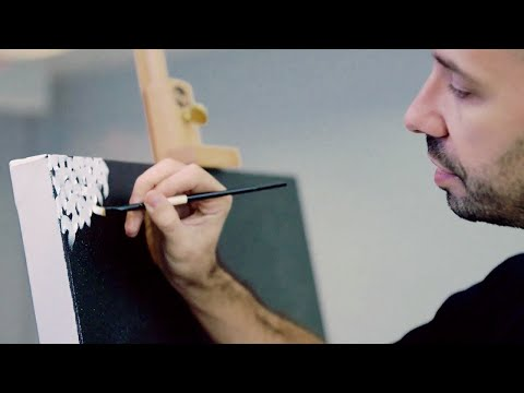 How to paint like Yayoi Kusama | IN THE STUDIO