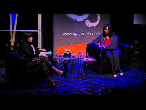 Advocate Thuli Madonsela in conversation with Leanne Manas UJ's Alumni day