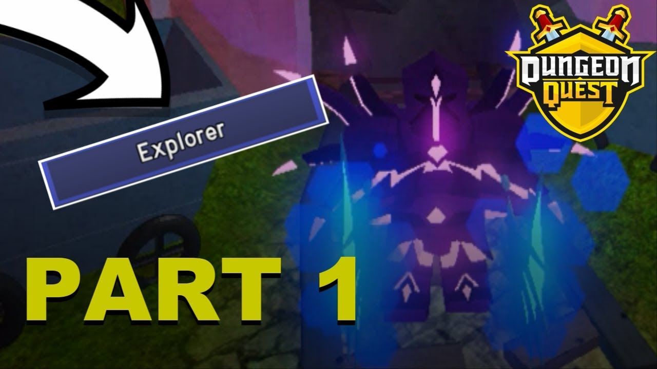 Dungeon Quest Roblox Tutorial Unlocking 2 Crystals Dungeon Quest Tutorial Youtube
