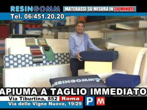Materassi In Spugna Su Misura.Resingomm Materassi Spot 2015 Youtube
