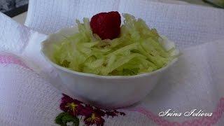 Витаминный салат из редьки и яблок ВКУСНОЕ МЕНЮ