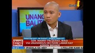 UB: Panayam kay JM Siasat, Sports Analyst