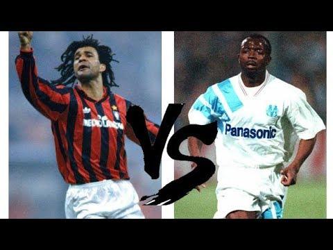Ruud Gullit Vs Abedi Pelé (1991) // Milan x Olympique de Marseille