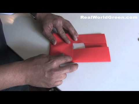 Make your own paper CD DVD case cover : Real World Green HD