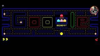 Pacman de google con Ricardo Milos