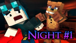 FNAF Pranks: DanTDM's SCARE PRANK! (Minecraft Roleplay) Five Nights at Freddy's 1