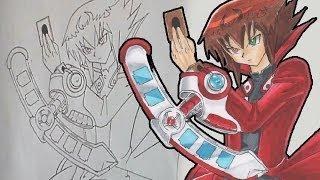 Let´s Draw Jaden Yuki