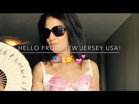 HELLO FROM THE USA! | New Jersey trip May 2016