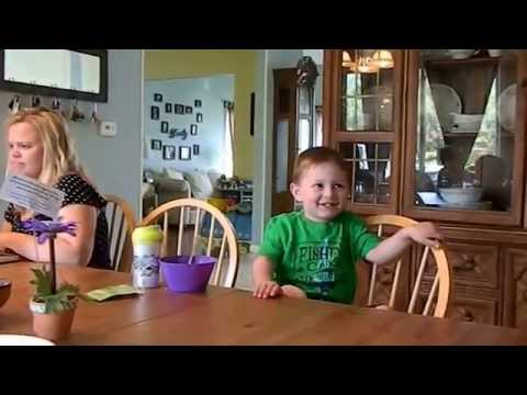 Adorable Little Boy Naming Presidents of the United States