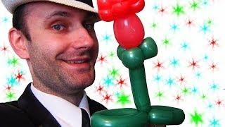 Цветок из шариков аэродизайн ★ flowers made of balloons(В этом видео уроке я подробно показываю как сделать цветок из шариков аэродизайн. Мы изучаем аэродизайн,..., 2014-04-02T05:17:17.000Z)