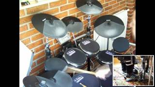 AC/DC - What Do You Do For Money Honey (Drum Cover - Franki Bio)
