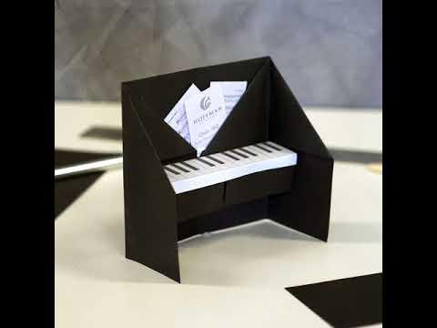 origami piano youtube