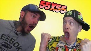 55x55 МЕНЯ БОМБИТ Feat Афоня РЕАКЦИЯ