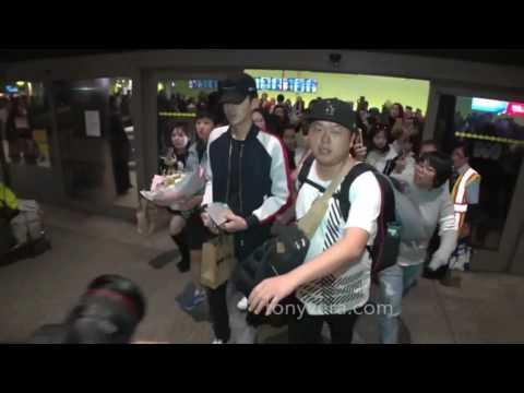 170212 Kris Wu At LAX Airport