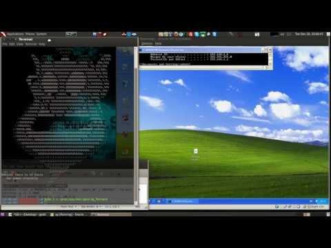 SSlstrip+Ettercap in Backtrack5