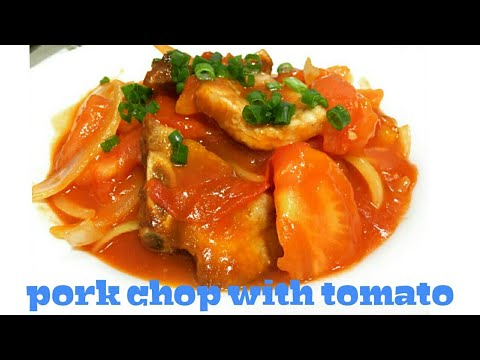 PORK CHOP WITH TOMATO